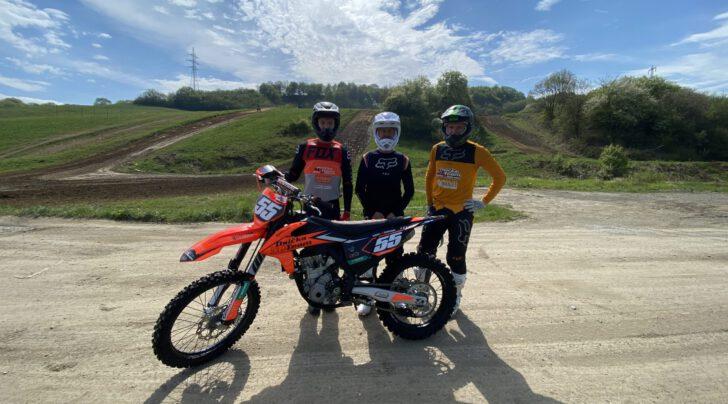 Týmový trénink - motocross Žaškov!