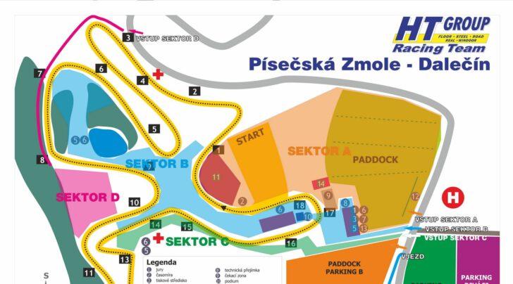 MAPA AREÁLU - DALEČÍN 28.6.2020 !